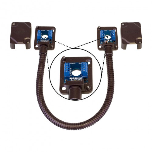 Armored Door Cord u2013 Pre-Wired Terminal Blocks and Removable Covers Bronze  sc 1 st  Seco-Larm & Armored Door Cord u2013 Pre-Wired Terminal Blocks and Removable Covers ...