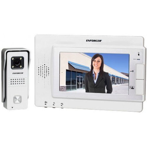 Image result for SECO-LARM Enforcer DP-234Q Hands-Free Color Video Door Phone