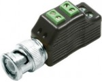 4-in-1 HD Video Balun with Pass-Through