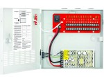 12VDC Switching CCTV Power Supply, 18 Outputs, 10A total