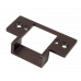 SD-991RA-61Q/B - Bronze-Colored Aluminum Low-Cut Strike Plate (optional)