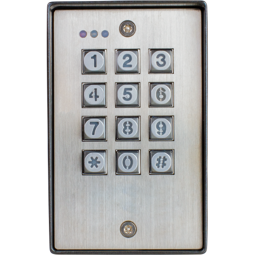 Vandal Resistant Outdoor Access Control Keypad