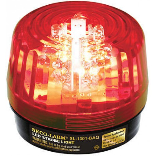 Red LED Magnetic Battery Operated Strobe Light Multiple Colors Available
