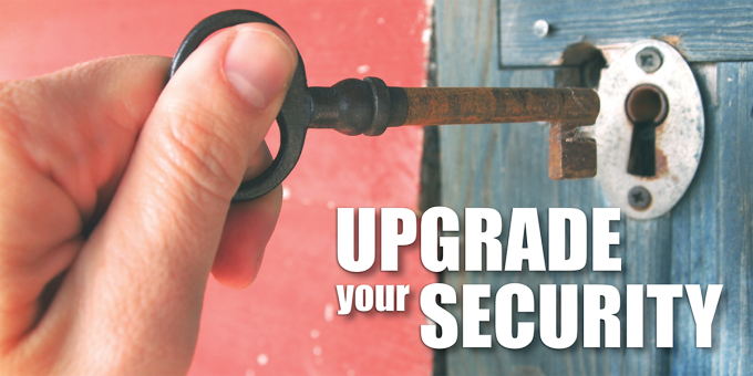 Upgrade your security